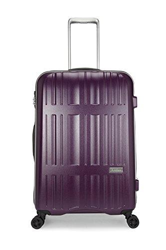 [アントラー] Jupiter スーツケース ジュピター 10年保証 軽量 大径キャスター 大型 容量70L 縦サイズ69cm 重量3.2kg AJUZ-62 B00RCM5112パープル