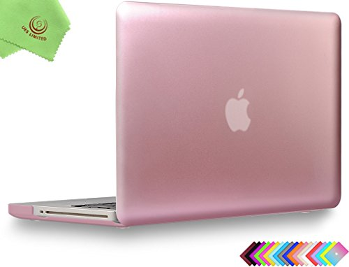 UESWILL Luxury Gold Metallic Coated Matte Frosted Hard Shell Case Cover for MacBook Pro 13