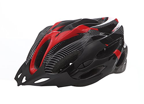 Hank Men's Blue Shockproof Road Bike Helmet Protect Adjustable Integrated Ultralight Flow Vents Adjustable MTB Cycling