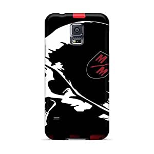 Scratch Protection Hard Cell-phone Case For Samsung Galaxy S5 (vbk3850DWhv) Custom High-definition Metallica Series