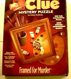 Framed for Murder; 500 Pcs Clue Mystery Puzzle ()