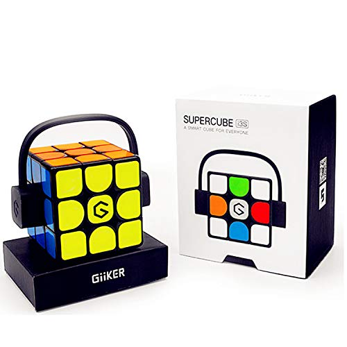 LiangCuber Giiker I3S 3x3 Super Smart Speed Cube, 3x3x3 Magnetic AI Bluetooth APP Intelligent 56.5mm Speed Cube Puzzle Toys(2019 Update Version)