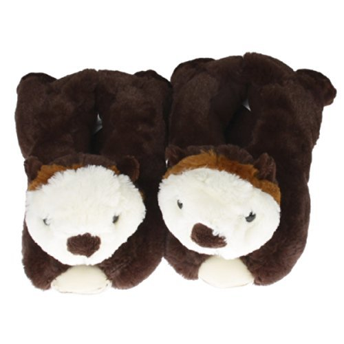 Wishpets Stuffed Animal - Soft Plush Toy for Kids - 12'' Sea Otter Slippers