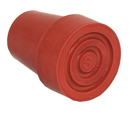switch sticks Replacement Walking Stick Ferrule Cane Tip, Red Orange by Switch Sticks