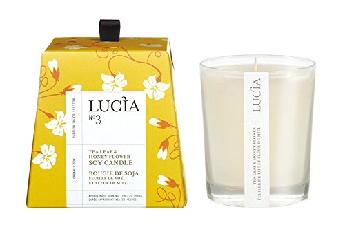 Lucia Votive, Tea Leaf and Wild Honey, 0.18 Ounce