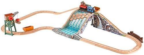 - Fisher-Price Thomas & Friends Wooden Railway Lumberyard Waterfall Toy