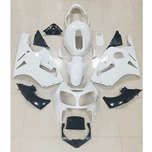 - ZXMOTO Unpainted Fairings Sets for Kawasaki ZX12R ZX-12R 00-01 Year 2000 2001 Bodywork Full Cover Kit ABS