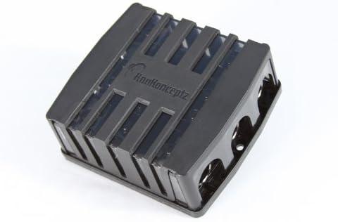 4 Way 0 Gauge Fuse Distirbution Block with fuses KnuKonceptz KNF-60 3