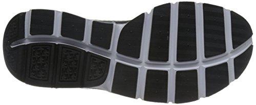 Nike Mens Socka Dart Sig Premie Löparskor Mörkgrå / Vit-svart