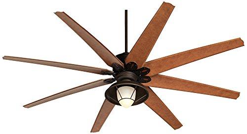 72 Quot Predator Bronze Outdoor Ceiling Fan With Light Kit
