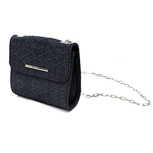 (Replay) Replay Ladies Bag Bag Debossed Denim Fw3524 493 Jp F/S