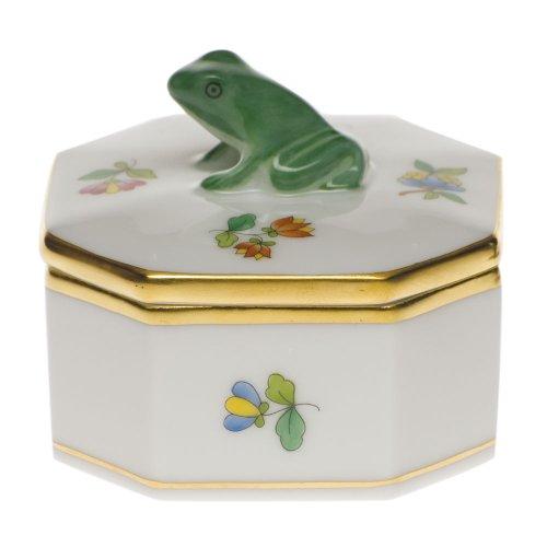 - Herend Queen Victoria Frog Box