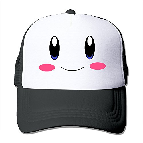 Elnory Vedio Game Cute Star Funny Trucker Hat Black (Kirby Toilet compare prices)