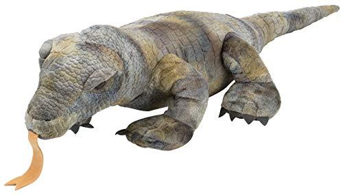 Cuddlekin Grey Komodo Dragon 12 by Wild Republic