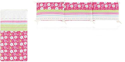Bettdecke X142Folk weiß + Displayschutzfolie und Erdbeere