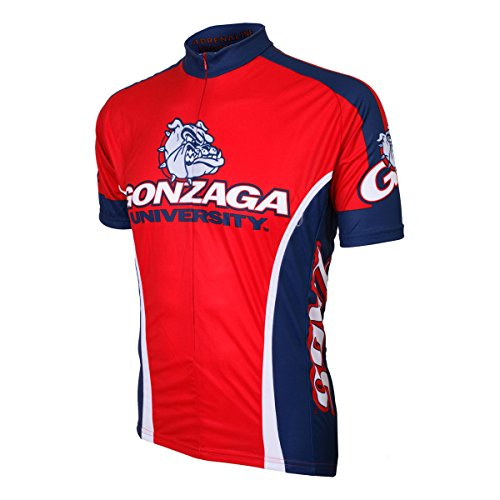 Adrenaline Promotions NCAA Gonzaga Bulldogs Men's Road Jersey, 3X-Large, Red/Blue