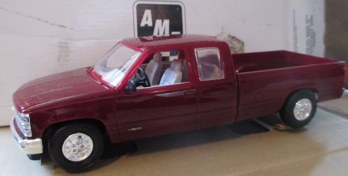 #6646eo AMT/Ertl 1995 Chevrolet C-1500 Pickup (Dark Garnet Red Metallic) Plastic Promo ()