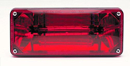 Whelen 700 Series Strobe Light, Red Lens -