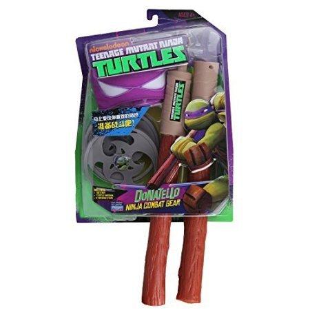 Teenage Mutant Ninja Turtles Ninja Combat Gear Donatello Color: Purple Donatello Toy, Kids, Play, Children (Teenage Mutant Ninja Turtles Donatello Combat Gear)