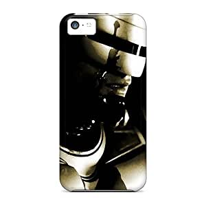 New Premium Wade-cases Robocop Helmet Skin Case Cover Excellent Fitted For Iphone 5c