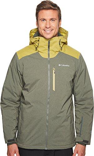 Columbia Men's Lost Peak Jacket, Medium, Gravel/Peppercorn