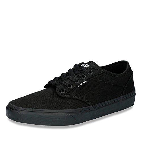 Vans Men's Atwood (Canvas) Skate Shoes 11 Men US (Black/Black)