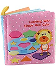 Children Story Cloth Book with Colorful Colors and Sounds