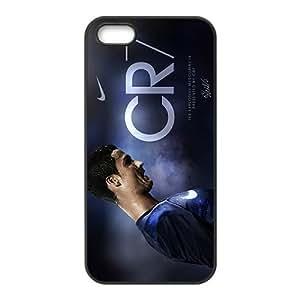 Custom Real Madrid Cristiano Ronaldo Print Hard Case for iPhone 5and iphone 5s