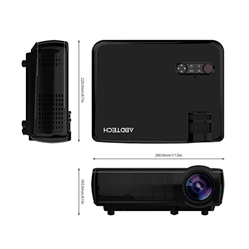 Abdtech lcd portable projector specs comparison reviews for Portable pocket projector reviews