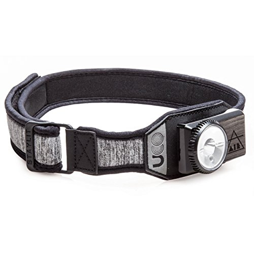 UCO Air 150 Lumen Lightweight Rechargeable LED Headlamp - Variable Brightness Dial & Adjustable Strap
