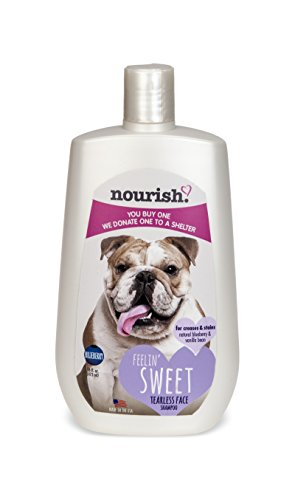 Nourish Tearless Face Dog Shampoo