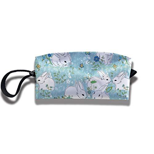bit Portable Girl Women Travel Storage Bags Fashion Printing Receiving Bag Wallets Purse Zipper Stationery Kits Makeup Bags Multi-Function Bag ()