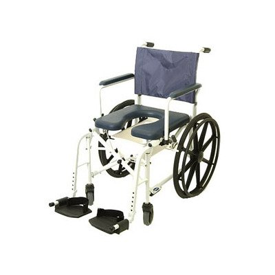Invacare Mariner Rehab Shower Wheelchair, with Commode Opening, 18'' Seat Width, 6895 by Invacare