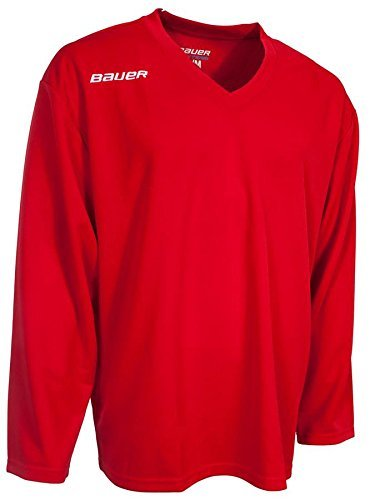 Bauer 200 Series Practice Jersey - Junior - Red - Large