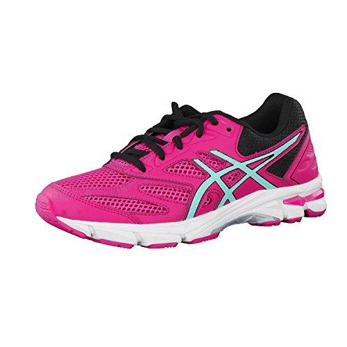 De Niños 8 Asfalto Zapatos En Gs Entrenamiento Rosa pulse Carrera Asics Gel awU7AA