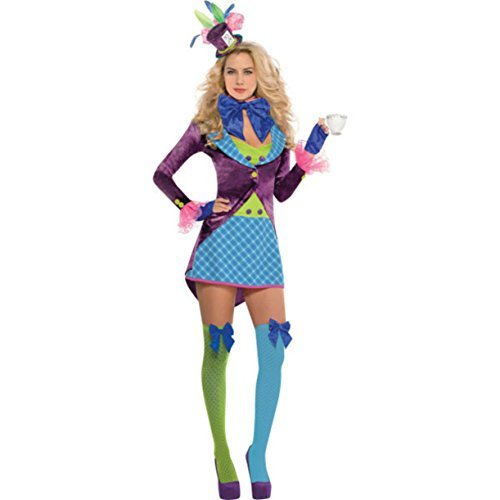 Amscan International Adults Mad Hatter Costume (UK 14-16) by Amscan International - Mad Hatter Uk Costume