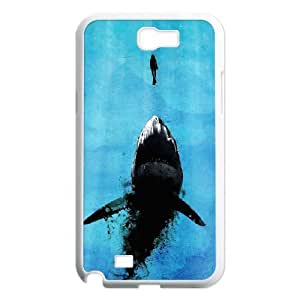 case Of Shark Customized Bumper Plastic Hard Case For Samsung Galaxy Note 2 N7100