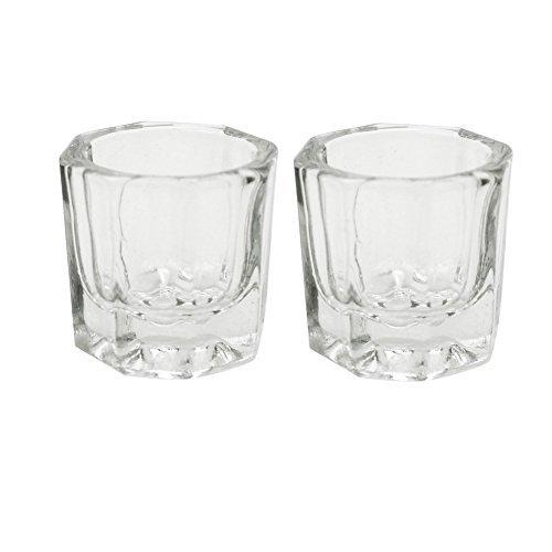 nail art crystal glass cup - 2