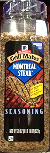 McCormick Grillmates MONTREAL STEAK Seasoning 29oz. (2 - Montreal Seasoning
