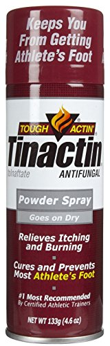 Tinactin Antifungal Super Absorbant Spray Powder for Athlete's Foot-4.6 oz.