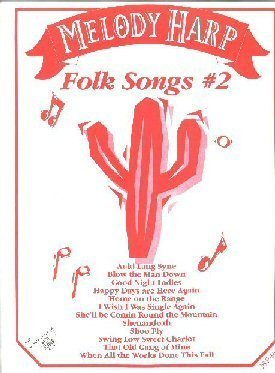 MELODY HARP Folk Songs #2 by Trophy Music