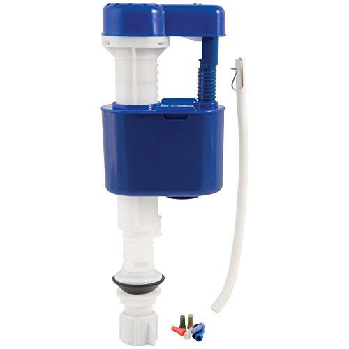 Plumbcraft Adjustable Quick Shut Off Perfect Flush Anti-Siphon Toilet Fill Valve ()