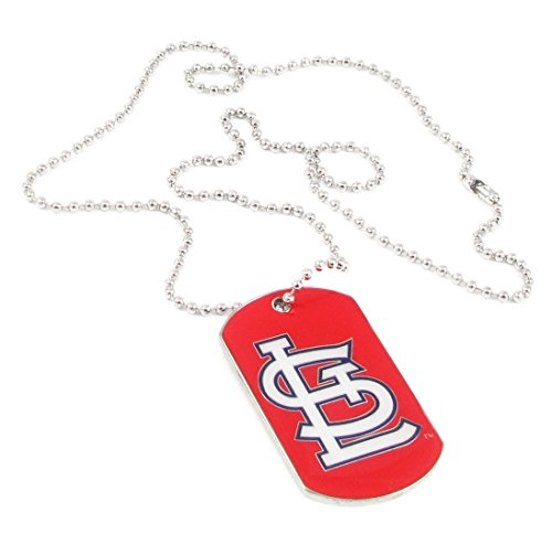 St Louis Cardinals - MLB Enameled Logo Dog Tag Necklace