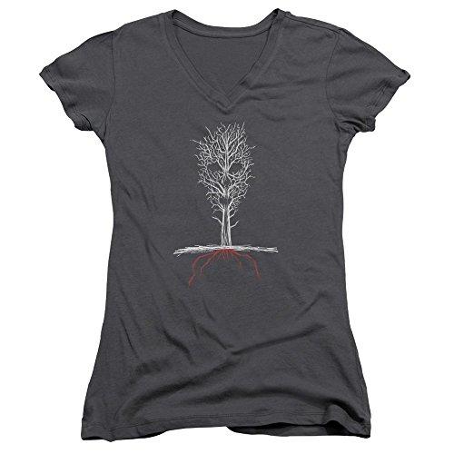 American shirt Charbon Story Horror T Femme rqwv1TtxrH