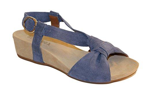 Blue Women's BENVADO Women's Sandals Women's Blue BENVADO BENVADO Sandals 4qcR7z