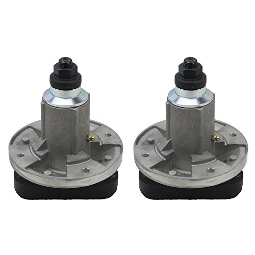 8TEN 2pk Deck Spindle Assembly John Deere L100 L105 L107 L108 L110 L111 L118 Sabre 1642HS 1742HS Scotts L1742 GY20050 GY20785 (2 Pack Deck)