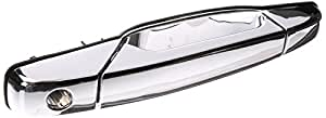 Depo 332-50027-112 Front Driver Side Left Side Exterior Door Handle Chrome