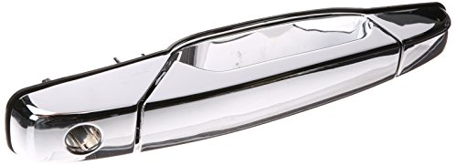 Ext Door Handle - Depo 332-50027-112 Front Driver Side Left Side Exterior Door Handle Chrome