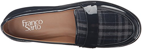 Franco Sarto Dames Valera Instappers Loafer Navy / Plaid