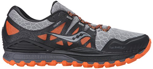 Iso Saucony Xodus Blue Orange Trail Grey Men's Runner qAPw4fZ